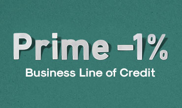 Ad - Prime -1% Business Line of Credit