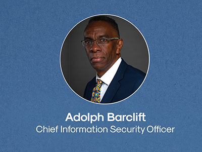Adolph Barclift Chief Information Security Officer